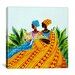"""<strong>""""Two Sisters"""" Canvas Wall Art by Keith Mallett</strong> by iCanvasArt"""