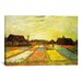 iCanvasArt 'Tulpenfelder (Tulip Fields)' by Vincent Van Gogh Painting Print on Canvas