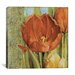 <strong>iCanvasArt</strong> 'Tulip Paisley' by Lisa Audit Painting Print on Canvas