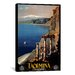<strong>Vintage Posters Taormina from Apple Vintage Advertisement on Canvas</strong> by iCanvasArt