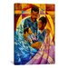"<strong>iCanvasArt</strong> ""Tender Moments"" Canvas Wall Art by Keith Mallett"