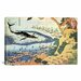 <strong>'Whaling off Goto from Oceans of Wisdom 1834' by Katsushika Hokusai...</strong> by iCanvasArt