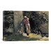 <strong>'Weary 1878' by Winslow Homer Painting Print on Canvas</strong> by iCanvasArt