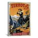 <strong>Terrot and Cie Dijon (Cycles Motocycles) Vintage Advertisement on C...</strong> by iCanvasArt