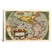 <strong>Antique Map of the Americas (1598) by Abraham Ortelius Graphic Art ...</strong> by iCanvasArt