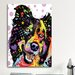 <strong>'Border Collie' by Dean Russo Graphic Art on Canvas</strong> by iCanvasArt