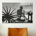 <strong>Political Mahatma Gandhi Photographic Print on Canvas</strong> by iCanvasArt