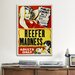 <strong>Reefer Madness Vintage Movie Poster Canvas Print Wall Art</strong> by iCanvasArt