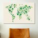 <strong>iCanvasArt</strong> 'Dinosaur Map of the World' by Michael Tompsett Graphic Art on Canvas