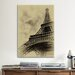 <strong>iCanvasArt</strong> 'Parisian Spirit' by Sebastien Lory Photographic Print on Canvas