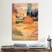iCanvasArt 'Haystack in Village' by Paul Gauguin Painting Print on Canvas