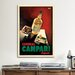 <strong>Cordial Campari Vintage Advertisement on Canvas</strong> by iCanvasArt