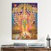<strong>iCanvasArt</strong> Hindu God Vishnu as Virat Swaroop Painting Print on Canvas