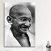 <strong>Political Gandhi Portrait Photographic Print on Canvas</strong> by iCanvasArt