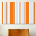 <strong>Striped Art Grand Prix Baby Graphic Art on Canvas</strong> by iCanvasArt