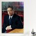 <strong>Political Jon Stewart Portrait Photographic Print on Canvas</strong> by iCanvasArt