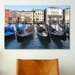 <strong>'Gondolas' by Chris Bliss Photographic Print on Canvas</strong> by iCanvasArt
