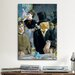 <strong>'At the Café' by Edouard Manet Painting Print on Canvas</strong> by iCanvasArt