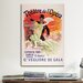 <strong>iCanvasArt</strong> Carnaval (Veglione de Gala) - Theatre de l'Opera Vintage Advertisement on Canvas
