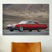 <strong>iCanvasArt</strong> Cars and Motorcycles 1961 Ford Firestar Custom Thunderbird Photographic Print on Canvas