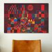 <strong>iCanvasArt</strong> 'Castle and Sun' by Paul Klee Painting Print on Canvas