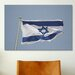 <strong>iCanvasArt</strong> Jewish Israeli Flag Photographic Print on Canvas