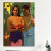 <strong>'Deux Thaitiennes (Two Tahitian Women)' by Paul Gauguin Painting Pr...</strong> by iCanvasArt