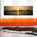 <strong>Panoramic Silhouette of Skyscrapers at the Waterfront, Chicago, Coo...</strong> by iCanvasArt