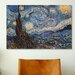 <strong>'The Starry Night' by Vincent Van Gogh Painting Print on Canvas</strong> by iCanvasArt