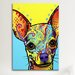 <strong>iCanvasArt</strong> 'Chihuahua l' by Dean Russo Graphic Art on Canvas