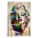 <strong>Michael Thompsett Watercolor Marilyn Monroe 3 Piece on Canvas Set</strong> by iCanvasArt