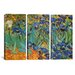 <strong>Vincent van Gogh Irises 3 Piece on Canvas Set</strong> by iCanvasArt
