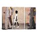 <strong>Norman Rockwell The Problem We All Live With (Ruby Bridges) 3 Piece...</strong> by iCanvasArt