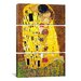 <strong>Gustav Klimt The Kiss 3 Piece on Canvas Set</strong> by iCanvasArt