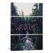 <strong>Leah Flores Wanderlust Rainier Creek 3 Piece on Canvas Set</strong> by iCanvasArt