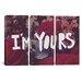 iCanvasArt Leah Flores I'm Yours 3 Piece on Canvas Set