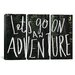 <strong>Leah Flores Let's Go On An Adventure 3 Piece on Canvas Set</strong> by iCanvasArt