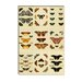 """Butterflies 9 Piece Plate Collection VI"" Canvas Wall Art by Cramer and Stoll"