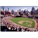 Home of the Detroit Tigers Baseball Team, Comerica Park, Detroit, Michigan Canvas Wall Art