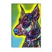 """Doberman"" Canvas Wall Art by Dean Russo"
