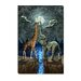 Magical Forces of the Moon Canvas Wall Art