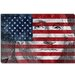 One Dollar Bill, USA Flag, George Washington Canvas Wall Art