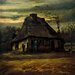 "<strong>iCanvasArt</strong> ""The Cottage, 1885"" Canvas Wall Art by Vincent Van Gogh"