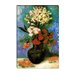 """Vase of Carnations and Other Flowers"" Canvas Wall Art by Vincent Van Gogh"