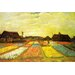 """Tulpenfelder (Tulip Fields)"" Canvas Wall Art by Vincent Van Gogh"