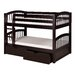 <strong>Low Bunk Bed with Drawers and Arch Spindle Headboard</strong> by Camaflexi