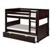 Camaflexi Low Bunk Bed with Twin Trundle by Camaflexi