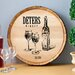 <strong>Personalized Gift Wine Barrel Home Décor Sign Wall Décor</strong> by JDS Personalized Gifts