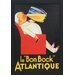 <strong>'Le Bon Bock' by Vintage Apple Framed Vintage Advertisement</strong> by North American Art