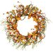 <strong>Oddity Inc.</strong> Fall Tiger Lily Tendril Ropes Wreath